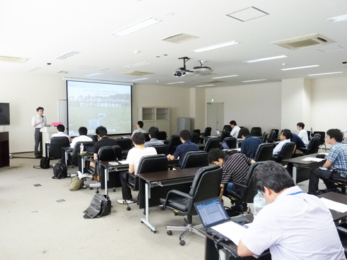 2nd UNISEC Space Takumi Conferenceの様子